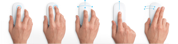 Magic Mouse Gestures